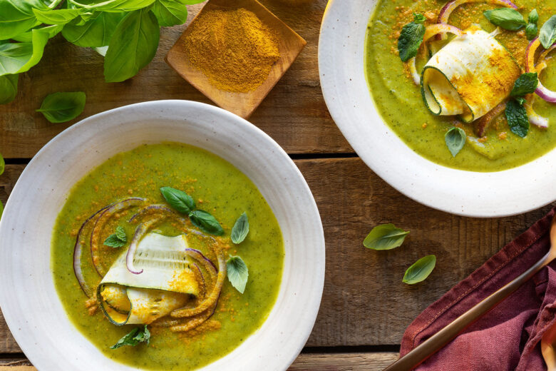 Sopa fria de Legumes